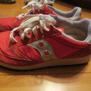 2003 Saucony Jazz Original Red Women's Shoes